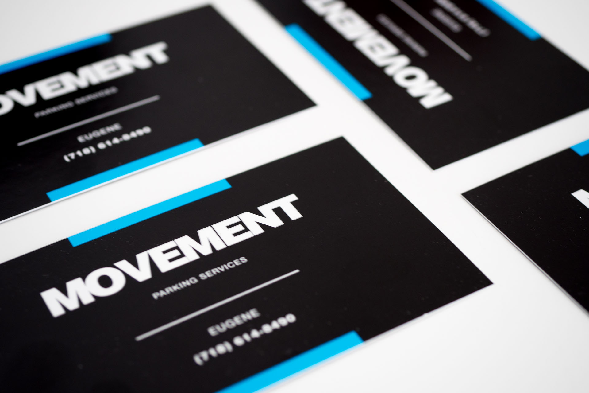 Business cards design brooklyn choice image card design and card movement parking services kromolith movements project features a logo design business card design and print and reheart Choice Image